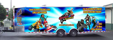 100 Game Truck Richmond Va Knoxville Tennessee Video Birthday Party