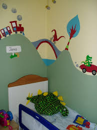 Part Of A Large Transport Themed Mural For 3 Year Old Boy