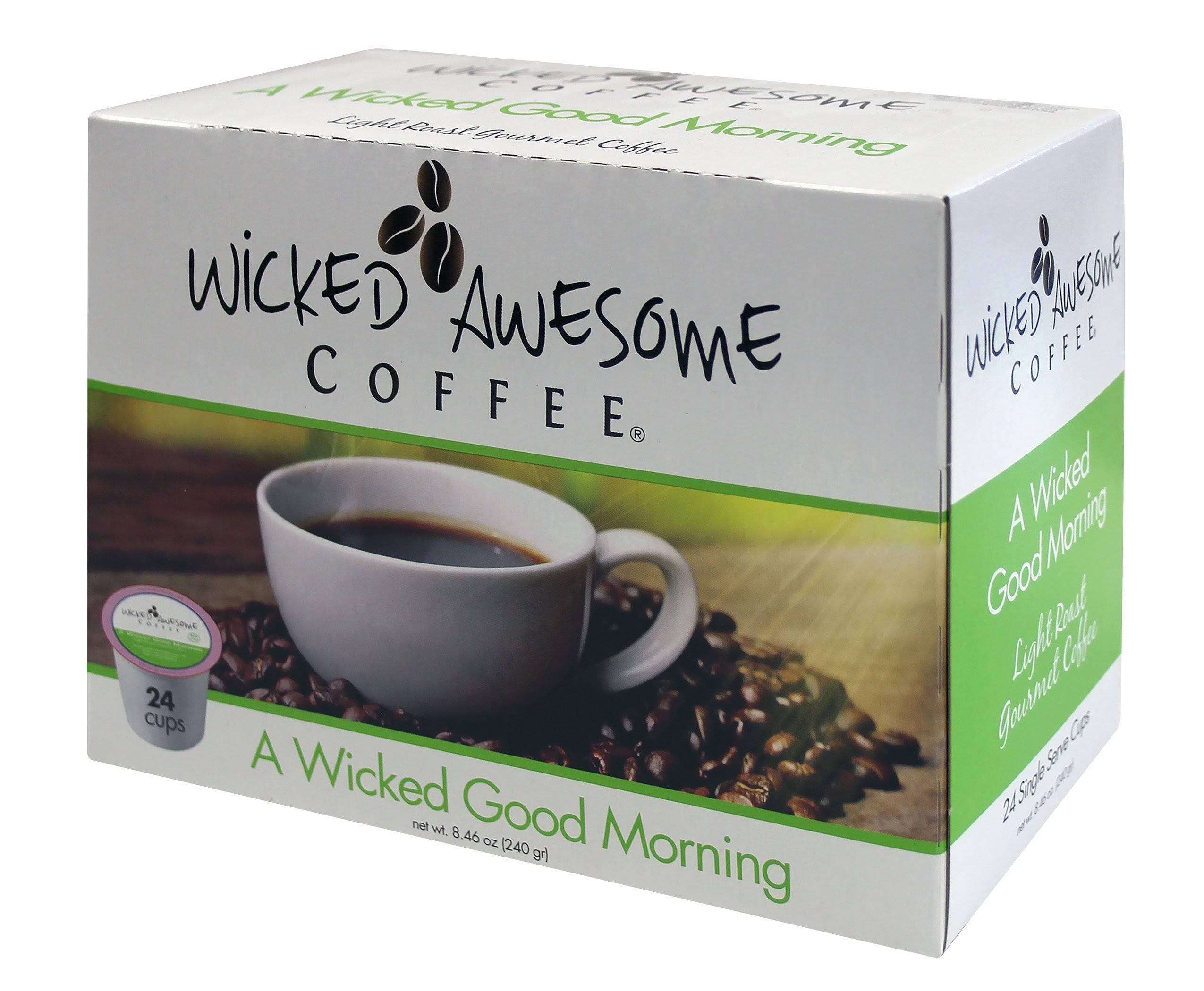 Wicked Awesome Single Serve K Cup Coffee