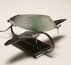 Vca Cacoosing Sinking Spring by 100 Airplane Lamp Art Deco Art Deco Lamp Ebay Rare Art Deco