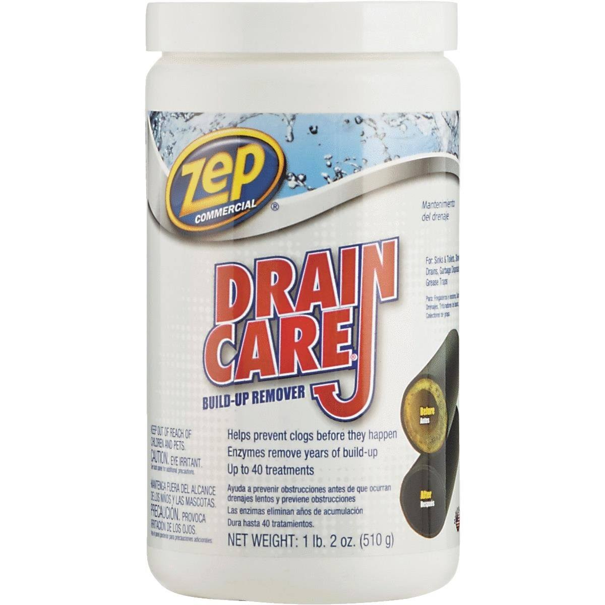 Zep Commercial Drain Care - Professional Strength, 16oz