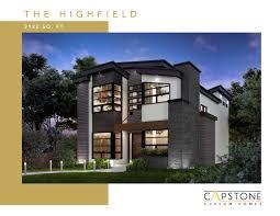 100 Capstone Custom Homes Highfield
