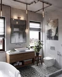 33 Best Industrial Style Bathrooms Ideas (21) - 33DECOR Fancy Mid Century Modern Bathroom Layout Design Ideas 21 Small Decorating Bathroom Ideas Small Decorating On A Budget Singapore Bathrooms 25 Best Luxe With Master Style Board Lynzy Co Accsories Slate Tile Black Trim Home Unique Mirror The Newest Awesome 20 Colorful That Will Inspire You To Go Bold Better Homes Gardens