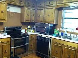 Here Is The Before 1960s Ranch Kitchen Pre Renovation Rain On A Tin Roof Featured Remodelaholic