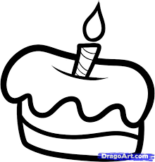 how to draw a cake for kids step 4