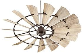 Ul Damp Rated Ceiling Fans by Quorum 197215 86 Windmill Ceiling Fan In Oiled Bronze With Ul Damp