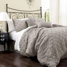 Lush Decor Serena Bedskirt by Lush Decor Lake Como 4 Pc Comforter Set Hayneedle