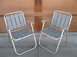 WOOD LAWN Chairs - Aluminum Folding Chair- SET Of 2 -1960s- Wood ... Stylish Collection Of Outdoor Chaise Lounge Chairs Sling Pair Of Lawn By Telescope Fniture Company For Sale At 1stdibs A Guide To Buying Vintage Patio Design Costco Beach Inspiring Fabric Sheet Chair Cheap Find Deals On Line Rejuvenate Metal 12 Steps With Pictures Table Clearance Big Home Depot Macram Blue White Retro Antique Knitted Bean Bag 56 Gliders 1000 Ideas About Details About 2 Vintage Sunbeam Matching Alinum Folding Webbed