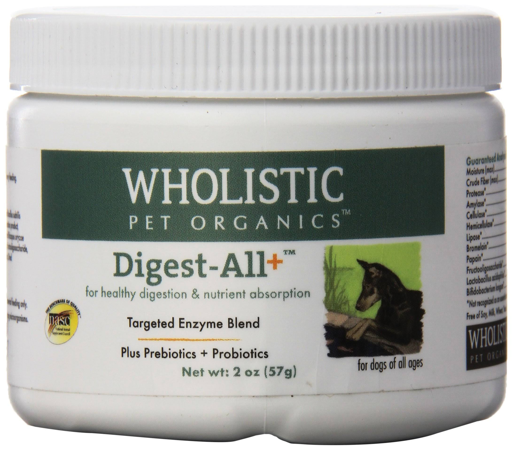 Wholistic Pet Organics Digest-All Plus Supplement 2 oz
