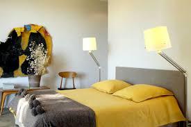 chambre jaune et gris idée déco chambre jaune et gris