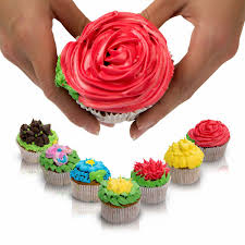 Cakes Decorated With Russian Tips by Russian Piping Tips Decorating Icing Nozzles For Cake 23 Pcs 304