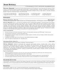 Marketing Event Coordinator Resume Sample Special Events Planner Template Fresh Management Of
