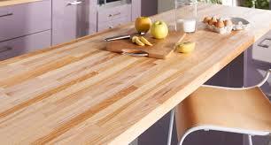 plan de travail cuisine hetre bois pour plan de travail maison françois fabie