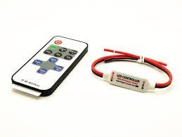 5v 24v led light bulb power on switch with dimmer strobe