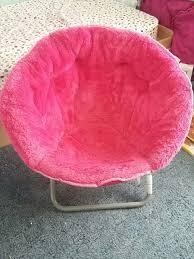 Pink Fuzzy Mushroom Chair In Blacksburg