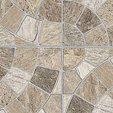 Outdoor Stone Tiles Texture