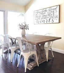 Farmhouse Style Paintings Best Dining Room Wall Art Ideas On Table With Metal