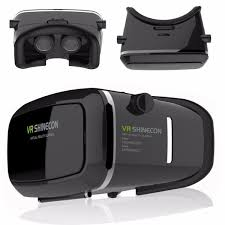 Virtual Reality VR 3D IMAX Video Games Glasses Cardboard for