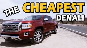 2018 GMC Canyon Denali Review | Truck Central - YouTube