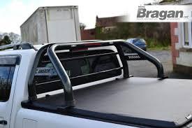To Fit 10-16 Volkswagen Amarok Roll Bar + LED Lights X2 + Brake ...