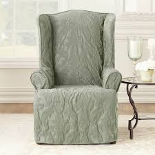 Sure Fit Matlasse Damask 1 Piece Wing Chair Slipcover Home Decor Timeless Wingback Chair Trdideen As Ethan Armchair Slipcovers Lemont Scroll Jacquard Reclerwing Chairclub Sure Fit Stretch Pinstripe Wing Slipcover Walmart Sofa Beautiful Recliner Covers For Mesmerizing Buy Slipcovers Online At Twill Supreme Walmartcom Fniture Update Your Cozy Living Room With Cheap Post Taged With Recliners Ding Diy Sofas And
