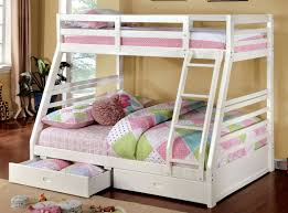American Freight Bunk Beds by Buy Furniture Of America Cm Bk588wh California Iii Twin Full Bunk