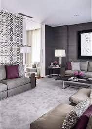 gray and purple living rooms ideas grey purple modern living