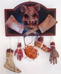 Scary Halloween Props For Haunted House by 155 Best Halloween Butcher Images On Pinterest Halloween Stuff