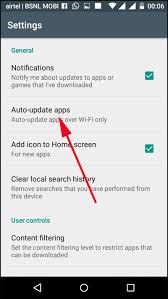 How to Turn f Automatic App Updates your Android iPhone and