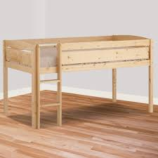 canwood whistler junior twin loft bed in natural free shipping