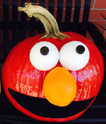 Elmo Pumpkin Pattern by Halloween Creative Ads And More U2026