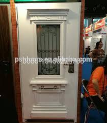 Single Leaf Steel Door Hollow Metal Door Fire Rated Security Door