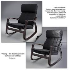 Ikea Poang Rocking Chair Weight Limit by Furniture Ikea Leather Poang Chair Glider Chairs For Nursery