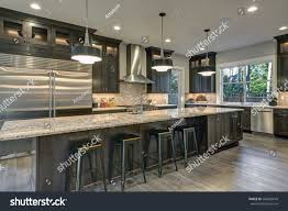 Colorful Kitchens Kitchen Design Ideas Dark Cabinets Painting Black Rustic Brown