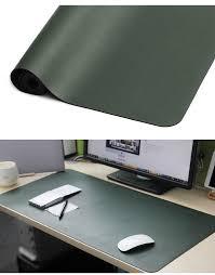 tapis de bureau personnalisé oem personnalisé bureau tapis de table imperméable microfibre pu en