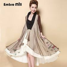 Fashion Clothes Women Floral Blazer 2017 Summer Ladies Shopping Online Royal Embroidery Plus Size Khaki