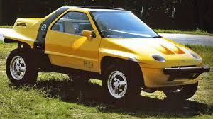 100 Mid Engine Truck The Suzuki RT1 Concept Was A FourWheel Drive OffRoad