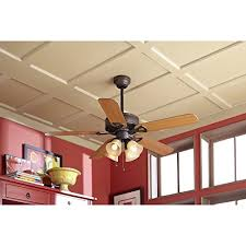 Harbor Breeze Ceiling Fan Light Kits Black by Harbor Breeze Springfield Ii 52 In Antique Bronze Downrod Or Flush