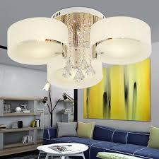 büromöbel e27 led wohnzimmer kristall deckenle