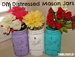 DIY Distressed Mason Jars Posted On September 05 2013 Masonjarmain