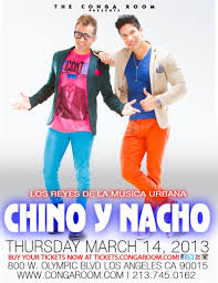 Conga Room La Live Calendar by Chino Y Nacho In Los Angeles At The Conga Room