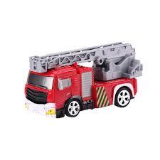 Remote Control Truck 8027 5km/h 40mHz 1:58 Mini Fire Engine Rescue ...