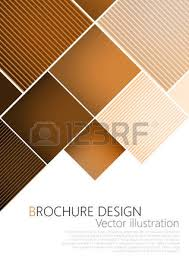 Business Brochure Cover Design Template Brown Background Vector Royalty Free Cliparts Vectors And Stock Illustration Image 53856926