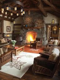 Cabin Living Room Enchanting