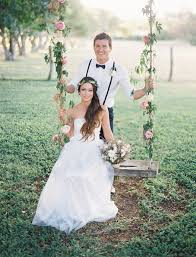 romantic hawaiian wedding at puakea ranch alexis ben green