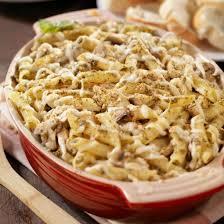recette gratin de pâtes à la dinde