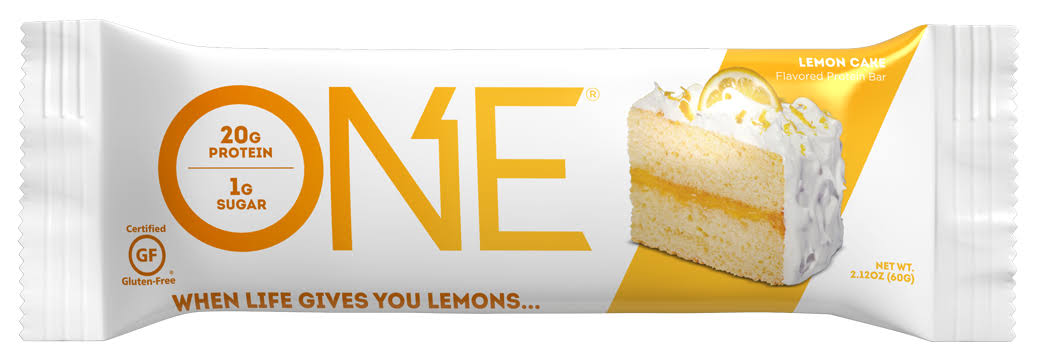 One Protein Bar, Flavored, Lemon Cake - 2.12 oz