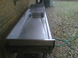 10ft stainless steel countertop w sink louisiana sportsman