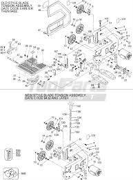 Mk 101 Tile Saw Motor by Craftsman 9443 Type 1 10