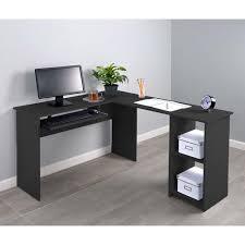 fineboard corner keyboard tray l shaped computer desk walmart com